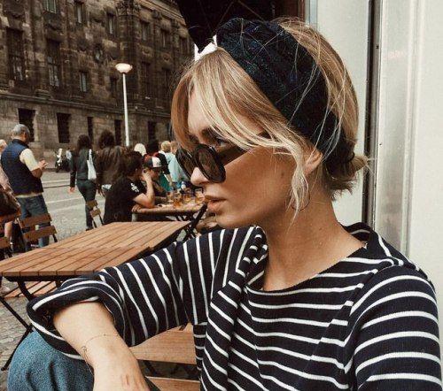 marinière lunettes de soleil